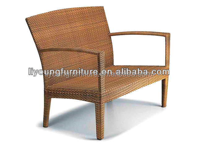 2015 Waterproof Latest Design rattan wicker office used dining room furniture for sale LG08SET