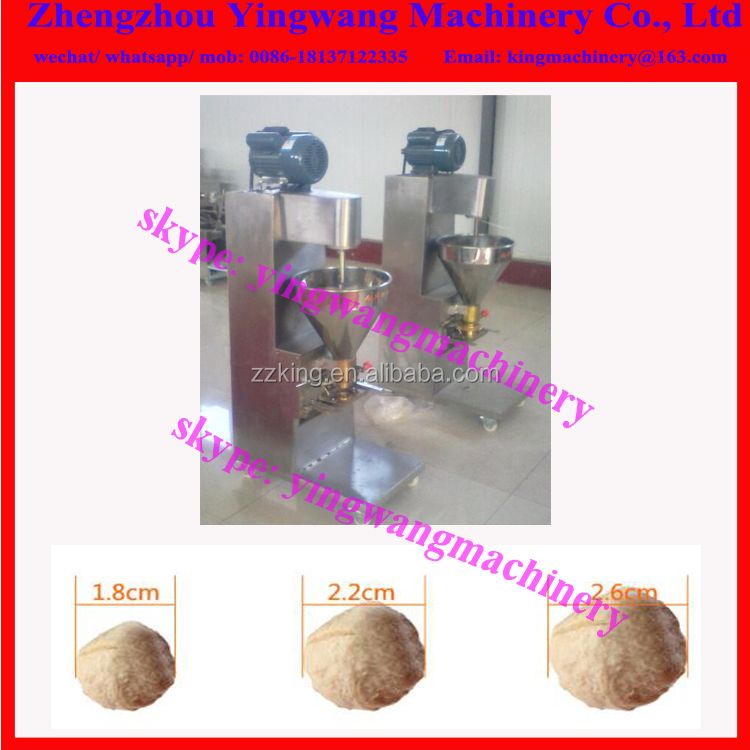 Small automatic meat ball making machine