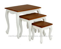 Queen Ann Nesting Table