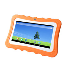 Bulk wholesale Silicone protective case 7 inch android kids tablet pc