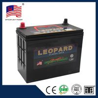 46B24 jis style 12V45AH sealed lead acid rechargeable bottom price 12v 45ah car battery