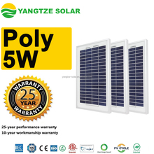 Popular 5v 1a low price small mini solar panel for toys