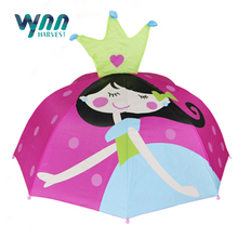 Children umbrella with carton printing
