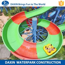 Daxin The Water Slide Used Fiberglass Water Slide For Sale