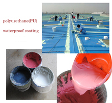 colorful liquid Polyurethane PU Waterproofing Coating paint for wood