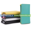 Wholesale PU wallet type multi color leather mobile phone cover