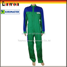 Custom industrial factory safety workwear fire retardant coverall