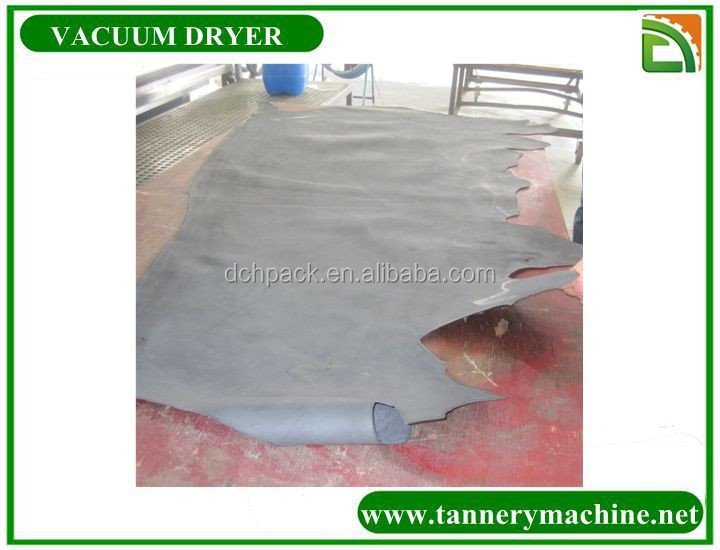 industrial vacuum dryer for leather
