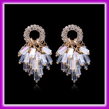 2015 Fancy Design Handmade Glass Crystal Bali Jewelry Earring For Women