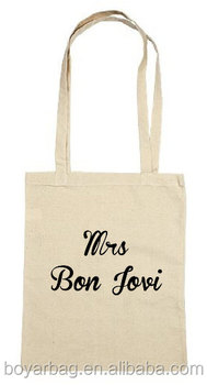 Custom natural cotton handbag shopping bag womens travel tote bag