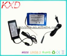 DC 12V 8000mAh Backup Rechargeable lithium ion battery 12v for CCTV Camera