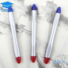 OEM Wholesale Hotel Cheap Disposable Plastic pen/Double ball pen