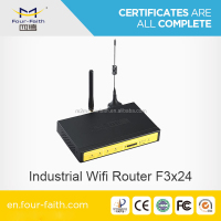 F3124 M2M Industrial GPRS 1 Port Ethernet Router with RS485 & Wi-fi for oil&gas solution i