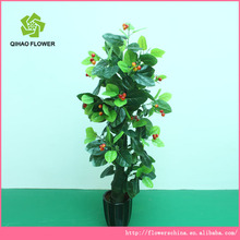 artificial cherry tree handmade tree with plastic fruit