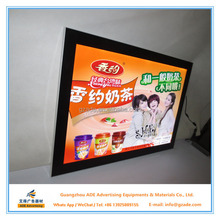 hot sale & high quality crystal LED light box equipment fast food used for Beer industry