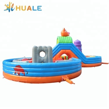 Low price Huale PVC inflatable play bouncy castle for sale