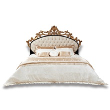 Shenzhen Ekar Furniture French Style Classic Royal Wooden Double Bed Designs