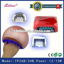 36w uv lamp nail uv lamp for glass glue nail dryer station