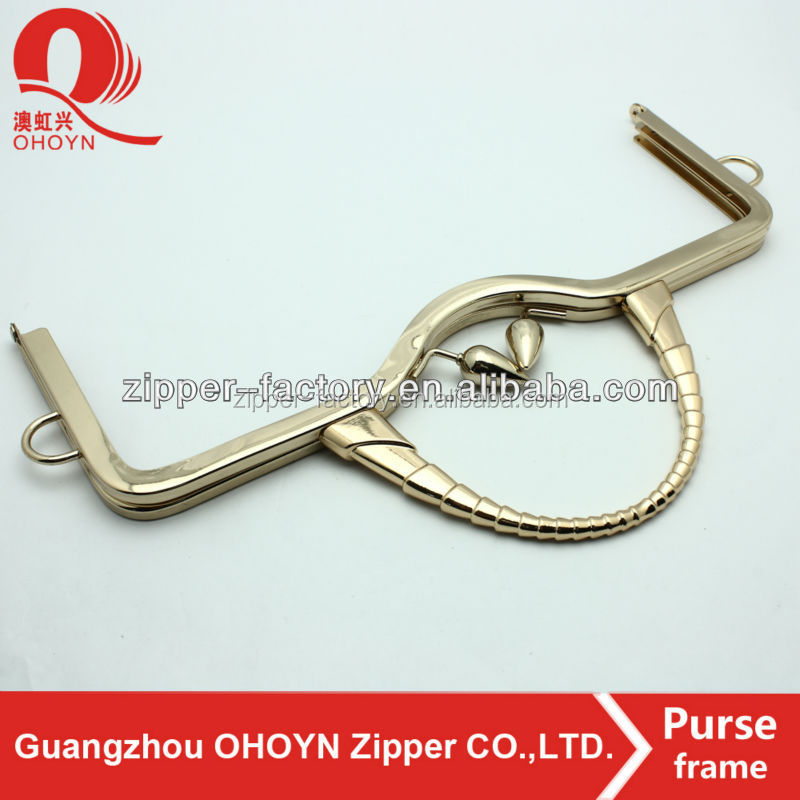 2017 new products metal purse frame clasp