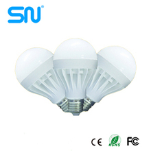 India price plastic 3w 5w 7W 9w 12w 15w 20w LED light bulb e27 B22
