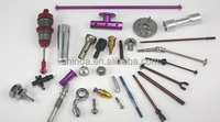 precision CNC Machining milling & turning hand tool, remote control cars parts, spring, motorcycle parts