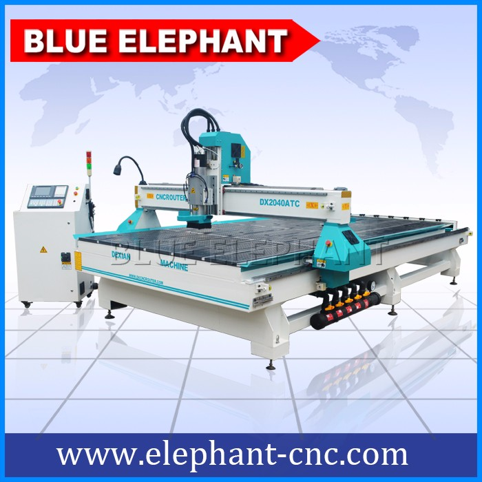2050 4th axis cnc , atc cnc router machine , carving engraving machinery with high z axis