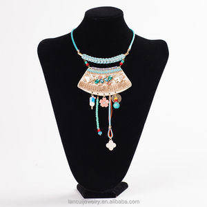 Women Vintage Choker Necklaces Ethnic Bohemian Jewelry Statement Tribal Accessories