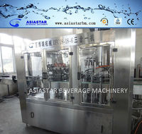 2014 Cheap New Type Small Bottle Full Automatic Monobloc Industrial Juice Filling Machine with 3 Years' Warranty