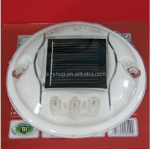 High quality Plastic Solar LED Road Reflector Stud round PC material solar cat eye road stud