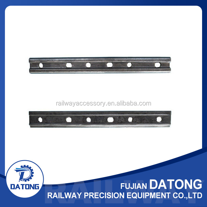 Rail fishplate and joint bar used in railway turnout
