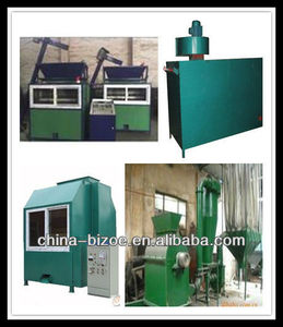 Pure high productivity metal electrostatic separation PCB recycling machine