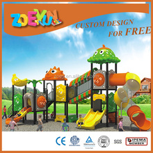 large Kids outdoor plastic big slides for sale