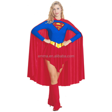 wholesale fancy dress carnival adult costume superwomen costume for party BWG14035