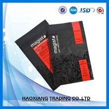 High quality flat bottom stand up zip lock coffee bag with degassing valve