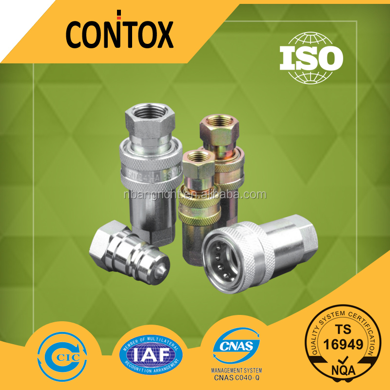 E101 ISO7241-A Standard Close Type Hydraulic Quick Couplings