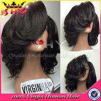 130 density 100 % human hair wig bangkok wholesale assurable quality