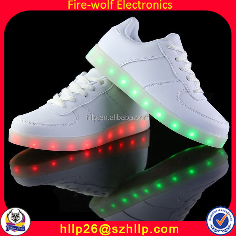 China Import Led Leisure Shoes Items Adult Glowing Flashing Women Shoes