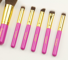 Synthetic Kabuki makeup brush set 10pcs make up brush