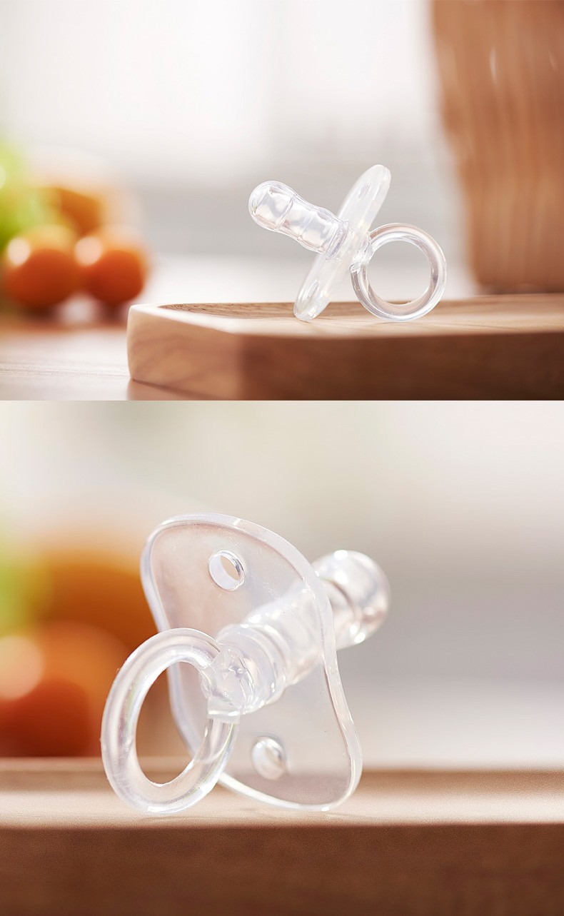 Completely liquid silicone baby fashion oral care pacifier