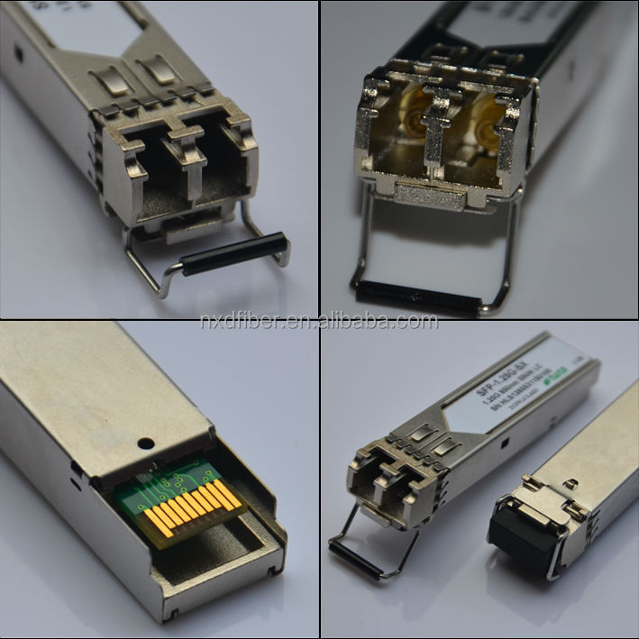 single mode double fiber SFP optical module,1550 nm 1.25 G 40 km optical fiber module