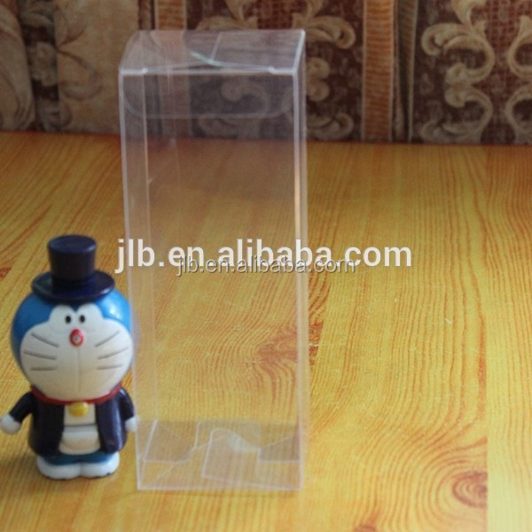 Clear plastic box for packing gift , PVC plastic gift packaging small clear