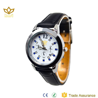 New style geneva quartz stainless steel watch black women watches