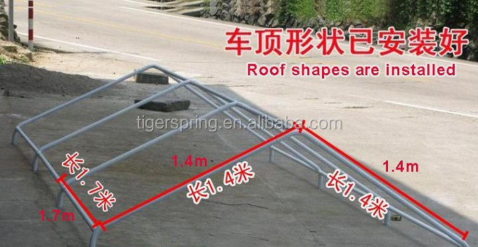 Waterproof and anti uv carport tent