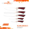 A3352R Color Sprayed Handle kitchen knife set