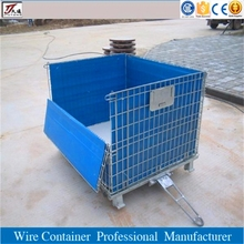 Storage welded galvanized metal wire mesh cage