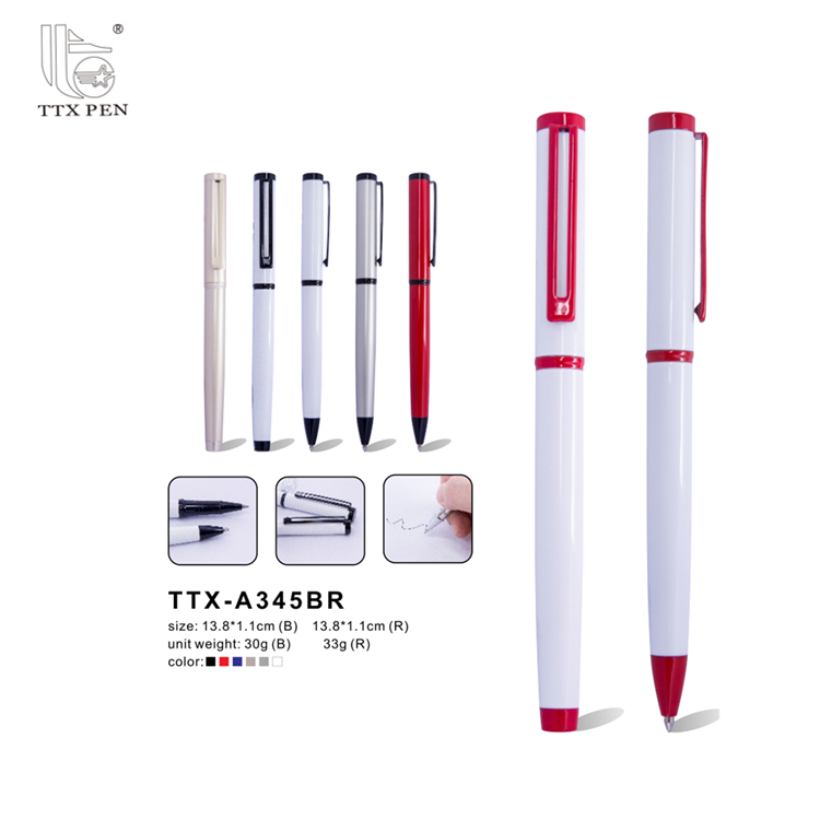 most popular advertising pen titanium alloy promotional pen