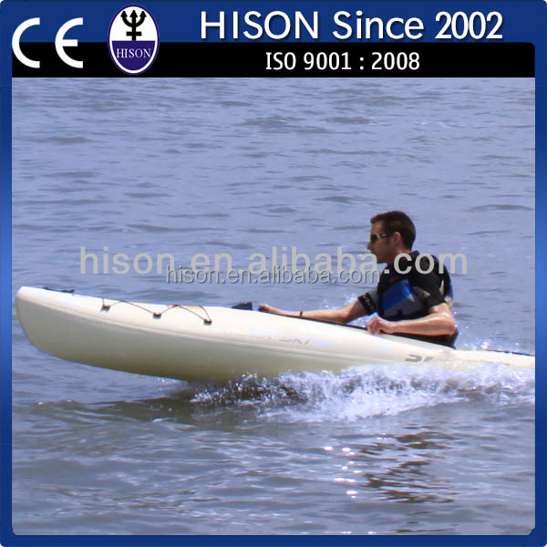 2014 Hison 4 Stroke jet engine powered plastic kayak