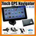 Newest Mediatek GPS Navigator 7Inch With 128MB 4GB Free Navigation Maps