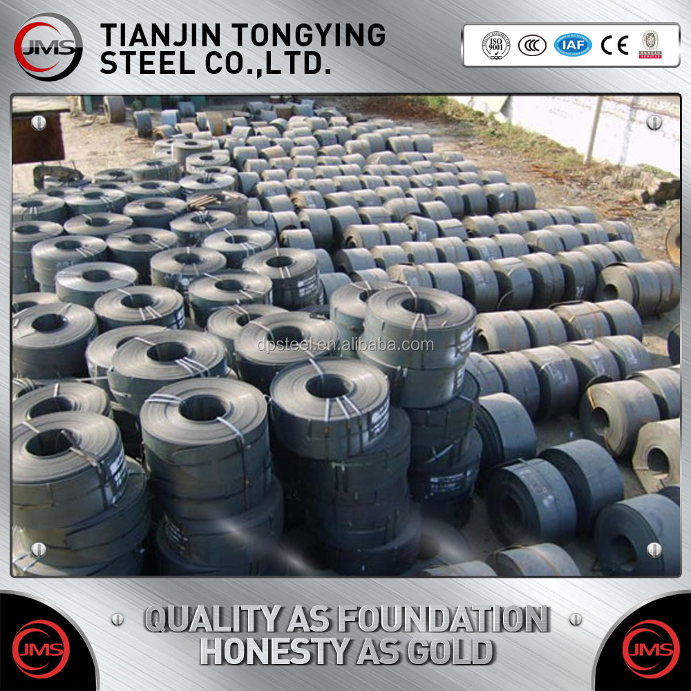 Q235 ,Q345,Q195 Hot Rolled Black Painted Steel Strapping/Strip/Band