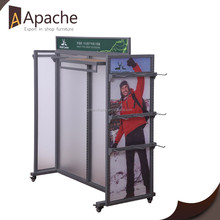 Multi-Functional Clothing Retail Store Display Rack